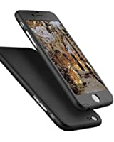 IPhone 6/6s Plus Case, Ipaky Thin Exact-Fit [Black] Premium Matte Finish Dual Layer Hard Case for iPhone 6 Plus with Tempered Glass Screen Protector for iPhone 6/6s 5.5 [Black]