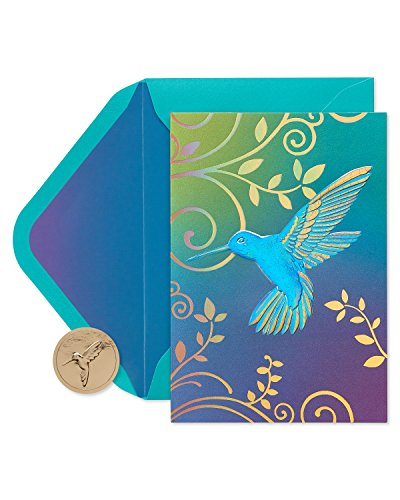 - Papyrus Hummingbird Boxed Blank Note Cards, 12-Count