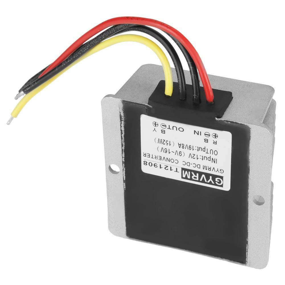 Stromrichter DC12V auf DC 19V 8A 152W Spannungserh/öhungs Stromrichtermodul