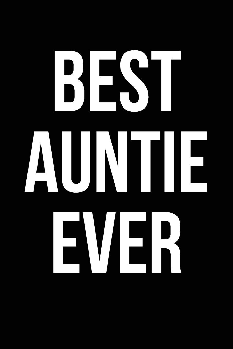 Download Best Auntie Ever: Blank Lined Journal pdf epub
