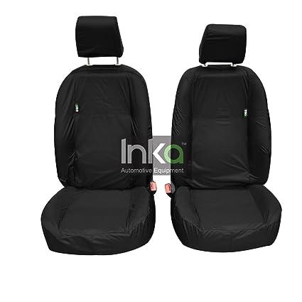 Land Rover Freelander Premium Protectores De cubiertas de asiento de coche//Negro
