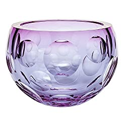 Multi-Color Crystal Bubbles Bowl