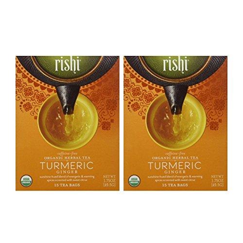 Rishi Organic Herbal Caffeine Free Turmeric product image