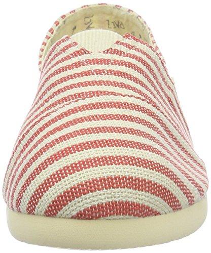 Adulto Multicolor Paez white 0066 Unisex Uk Alpargatas Red Surfy Original Eva qqYaB