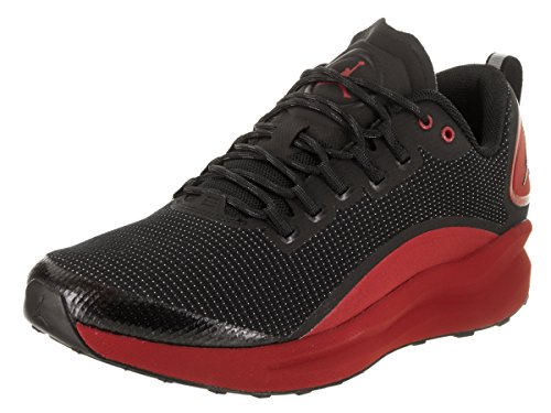 Jordan Nike Men's Zoom Tenacity Black/Black/Gym Red Running Shoe 12 Men US by Jordan