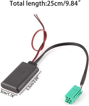 Siwetg Aux Adapter Bluetooth Für Autoradio Kabellos Elektronik