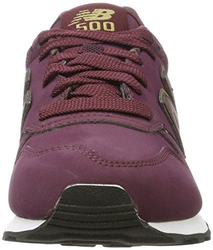 Balance Mujer burgundy Zapatillas New Para Gw500 Rojo PwAxdq