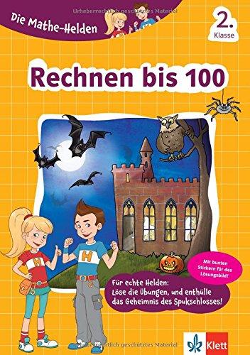 Klett Die Mathe Helden Rechnen Bis 100 2. Klasse Mathematik Grundschule  Mit Stickern