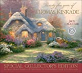 Twenty-five Years of Thomas Kinkade: Special Collector's Edition 2009 Wall Calendar