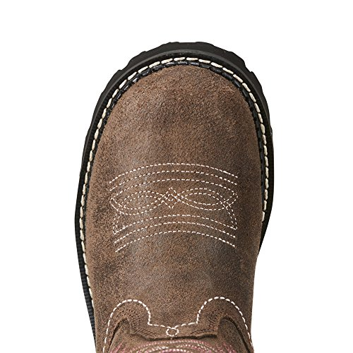 Ariat Women's Fatbaby Heritage Western Cowboy Boot, Tooled Brown, 11 B US