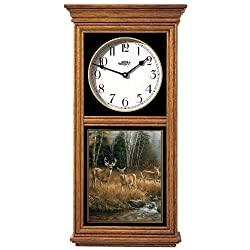 October Mist Regulator Clock by Rosemary Millette