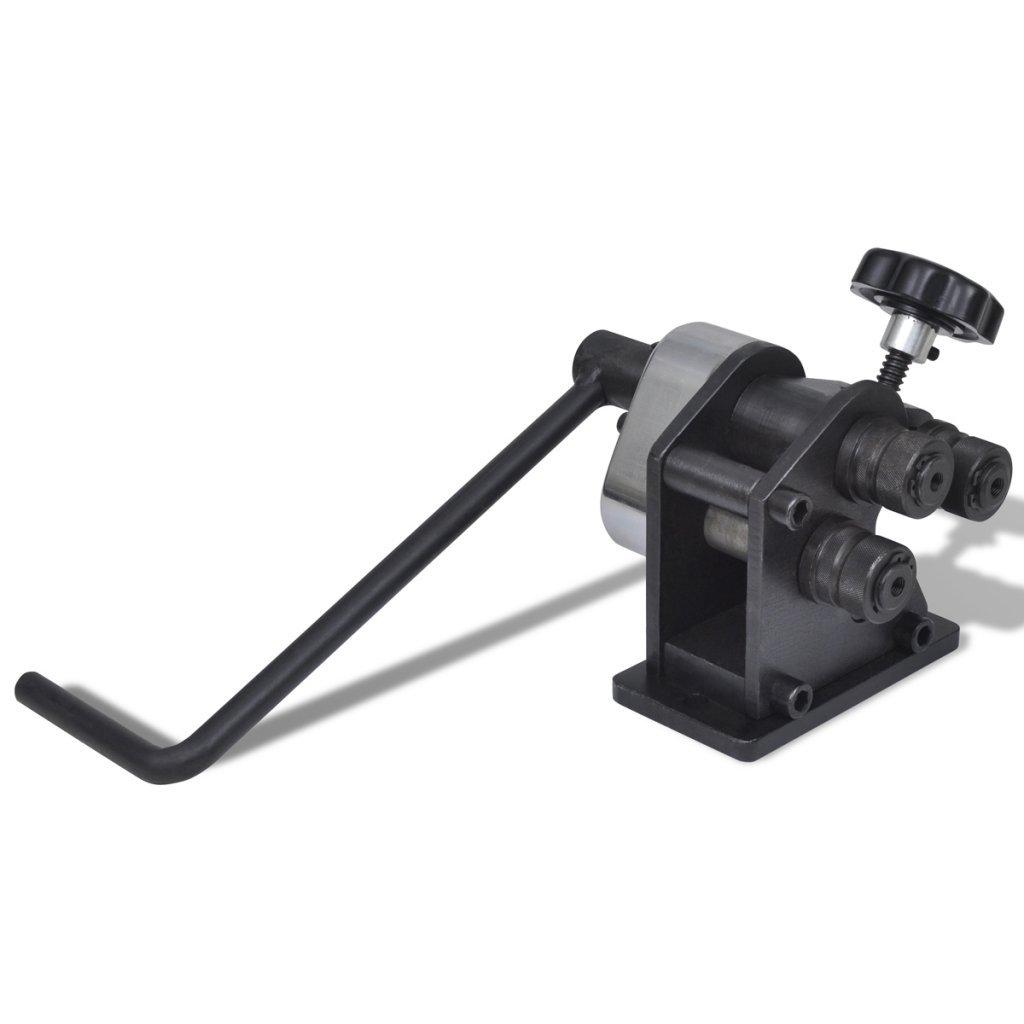 Festnight Manual Metal Sheet Bending Machine for Bending Flat Solid Bars with Handle Length 343 mm