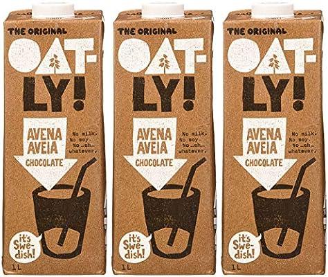 Oatly Bebida Avena con Chocolate - 1000 ml - [Pack de 3]: Amazon ...