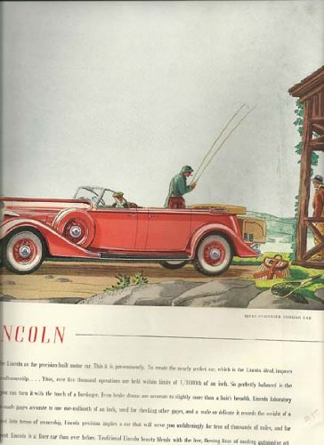 Ad for Lincoln--Seven-Passenger Touring Car ()