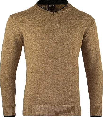 JACK PYKE Ashcombe 100/% Lambswool Zip Knit Jumper