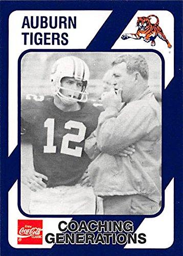 new product d78c9 e7a64 Pat Sullivan & Bobby Freeman football card (Auburn Tigers ...