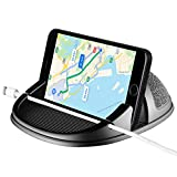 Beeasy Phone Holder for Car, Phone Mounts Universal Non-Slip Car Pad Mat Dashboard Holder for iPhone XS Max X XR 8 7 6 6S Plus Samsung Galaxy/Huawei/OnePlus/Sony Xperia and Smartphones or GPS Devices