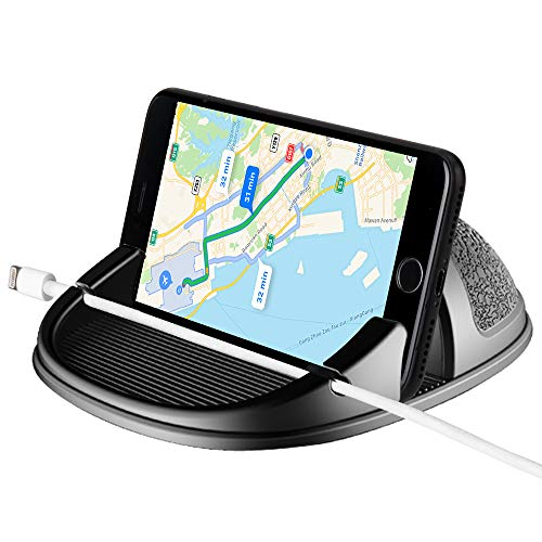 Car Phone Holder, Beeasy Car Phone Mounts Universal Non-Slip Silicone Car Pad Mat Dashboard Mount, for iPhone X 8 Plus 7 Plus 6 6S Plus, Samsung Galaxy Note 8 S8 S9 S7 and Other GPS Devices