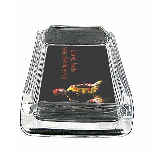 Joker Clown Em1 Glass Ashtray Smoking/Coin Holder 4