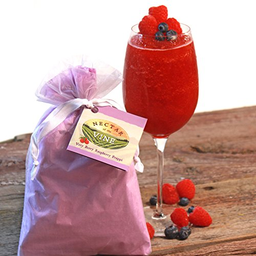 Very Berry Raspberry Wine Slushy Mix and Cocktail