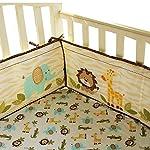 Cute-Lion-Safari-Baby-Boy-7-Pieces-Nursery-Crib-Bedding-Set-With-Bumper