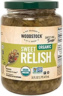 product image for Woodstock Farms Organic Sweet Relish - 16 oz