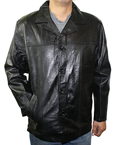 Zipper Leather Jacket Car Coat - 2