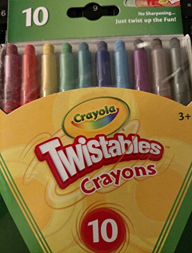 Crayola 52 9715 Twistable Crayons Count product image
