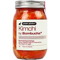 Urban Platter Kimchi Fermented Nappa Cabbage, 500g / 17.64oz [Raw, Organic & Vegan]