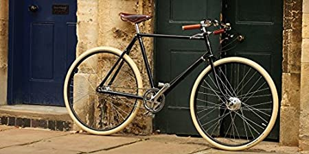Pashley GuvNor – Bicicleta para hombre con estilo de elegante bicicleta de caballero, fantástica chic, buje de 3 marchas, marco de 20 pulgadas, color negro. Elegante, deportivo y moderno.: Amazon.es: Deportes y