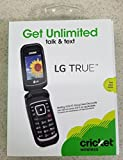 LG B460 ''True'' Flip Cell Phone (cricket) No Contract