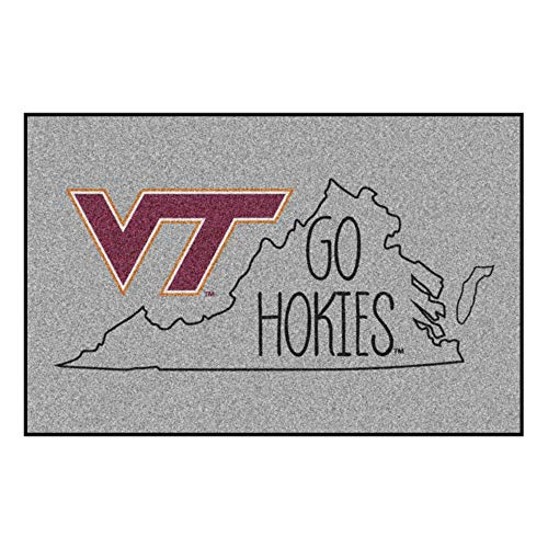 (Fanmats NCAA Virginia Tech Hokies Starter Mat, 19
