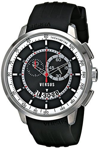 Versus-by-Versace-Mens-SGV080014-Manhattan-Stainless-Steel-Watch-with-Black-Rubber-Band