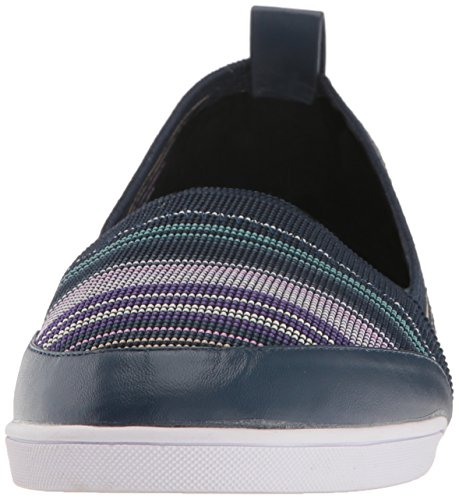 Blue Women's Midnight Amethyst Ballet Butterfly Twists Flats Toe Rosie Closed g0qCZfwZxn