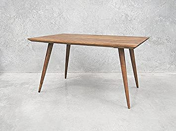 vintage grey Table scandinave Pieds Compas rectangulaire Meuble ...