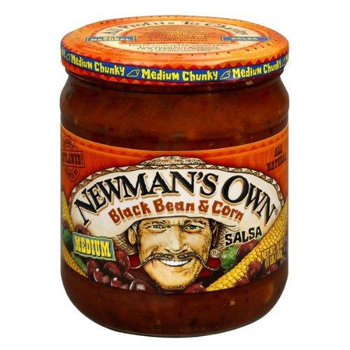 (Newman's Own Black Bean & Corn Salsa, 16 oz, 2 pk)