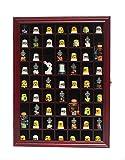 Thimble Display Case Shadow Box Cabinet Hardwood With Glass Door