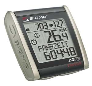 Sigma BC2209 Targa - Ciclocomputador con pulsómetro