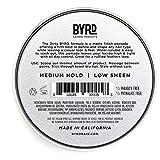 BYRD Hair Matte Pomade - Medium Hold, No Sheen, For
