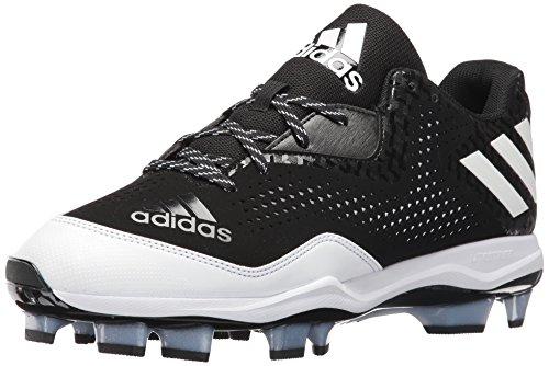 Adidas Originals Mænds Freak X Kulstof Midten Baseball Sko Sort / Hvid / Hvid J4kyyQ7w0