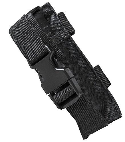 M1Surplus Tactical Molle Style Black Flashlight Belt Holster Pouch Fits Surefire G2X PRO 6PX EB2 P2X UTG VISM Tactical Lights