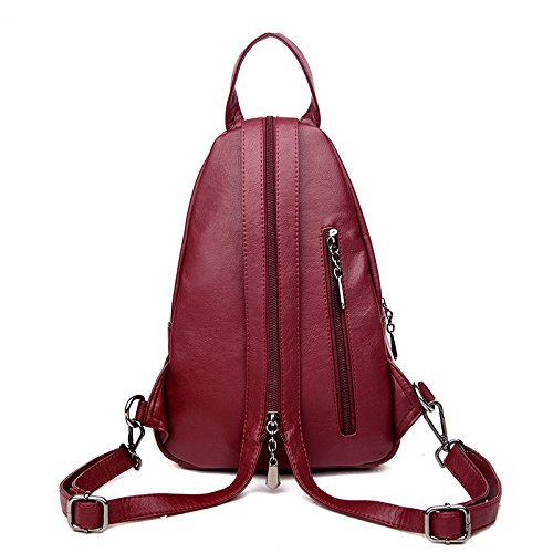 Casual Multi Simple Travel Backpack Female Bag Shoulder Chest Bag Handbags Shoulder A functional vqIf44