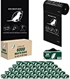 ZW USA Inc Dog Waste Roll Bags – Case of 6000 – D001-30