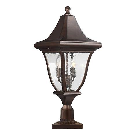 Feiss Oakmont FE/OAKMONT3/M - Lámpara de pie para jardín (3 ...
