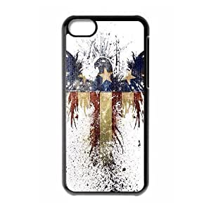 James-Bagg Phone case Bald Eagle On US Flags Protective Case For Iphone 5c Style-5