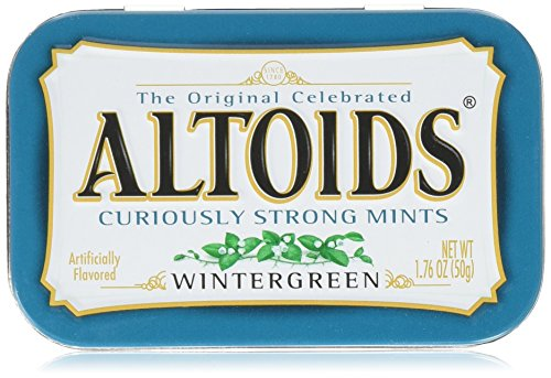 Altoids Wintergreen Mints - 1.76 oz. - 6 ct.