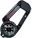Sun Company HikeHitch 2 and Backpacking Accessory Camping Hiking Thermometer and Compass Carabiner