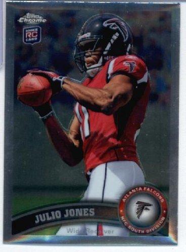 2011 Topps Chrome Football Rookie Card IN SCREWDOWN CASE #TC131 Julio Jones Mint ()