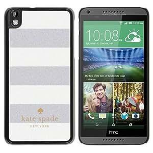 Unique Designed Kate Spade Cover Case For HTC Desire 816 Black Phone Case 11