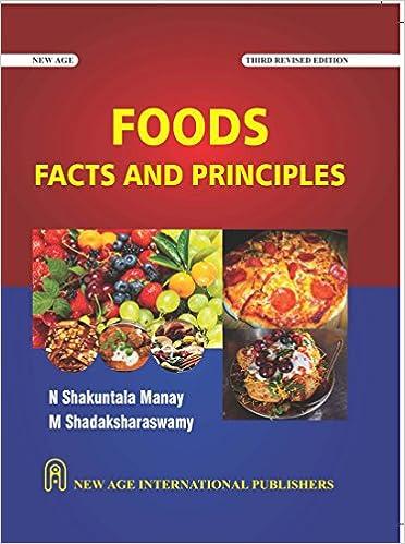food fact and principle by sankuntala